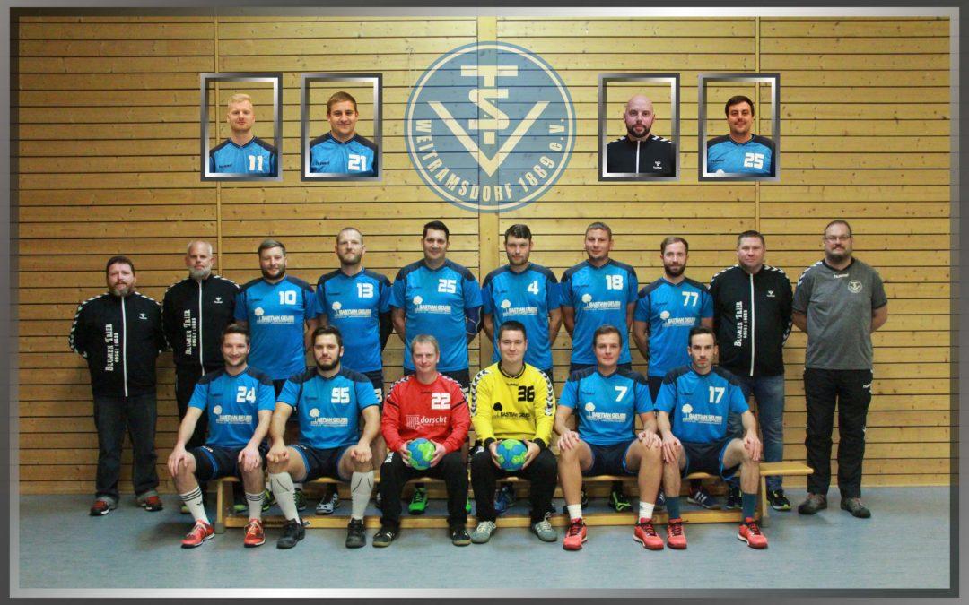 1. Männer- TSV Weitramsdorf – TSV Hof 26:24 (12:13)