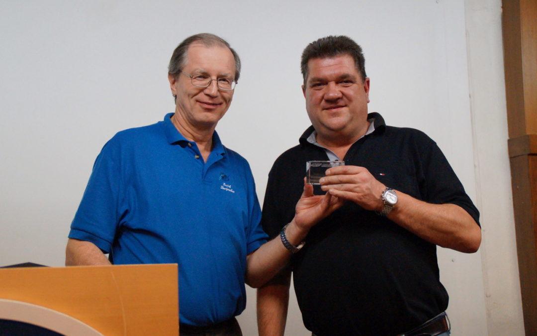 Ehrenamtspreis des Bayerischen Handball-Verbands (BHV) für Steffen Eberlein