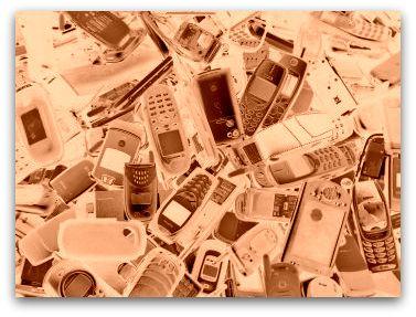 Handys sammeln für den Umweltschutz