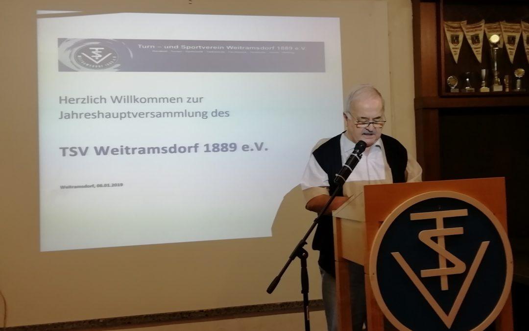 Ruhige Jahreshauptversammlung beim TSV