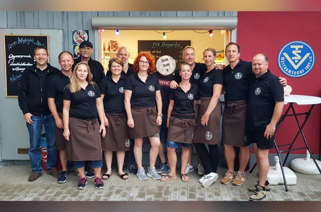 Biergarten 24/25 – August dank der Sommer-Crew 2019