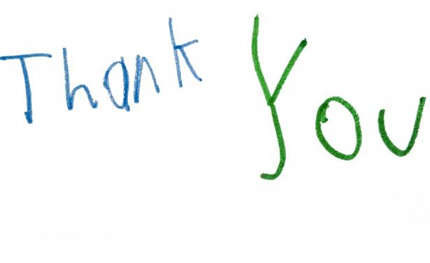 Vielen, vielen Dank….