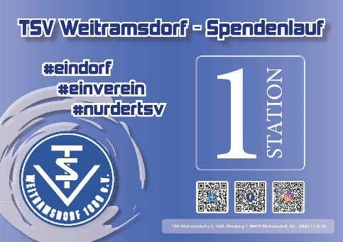 TSV Spendenlauf