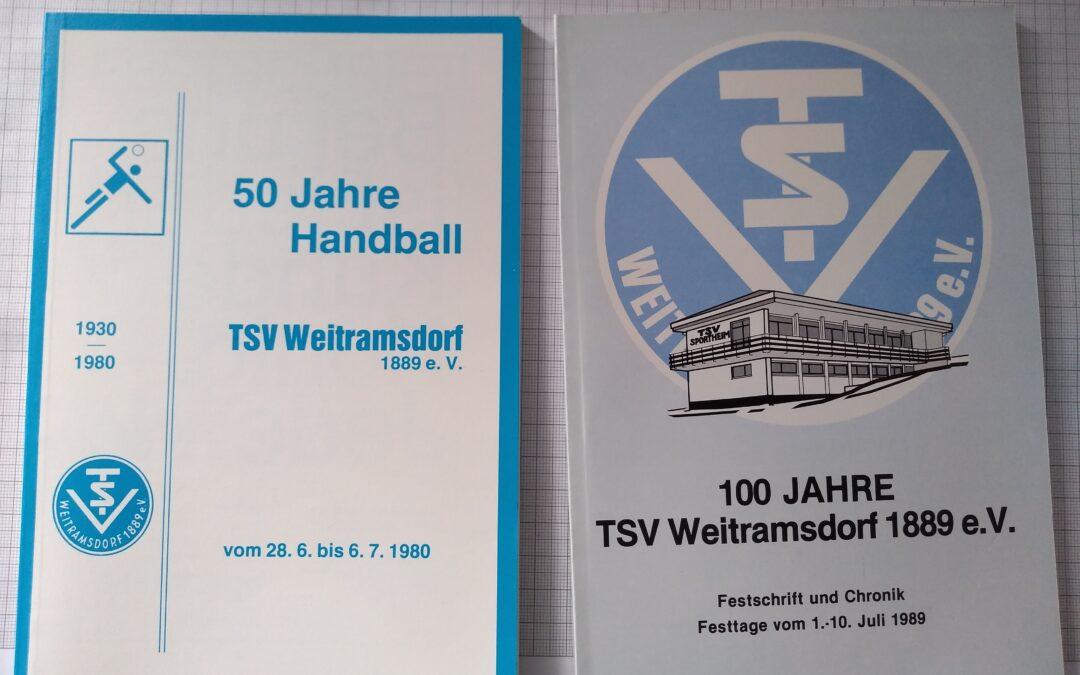 TSV Jahrbücher kostenlos abzugeben