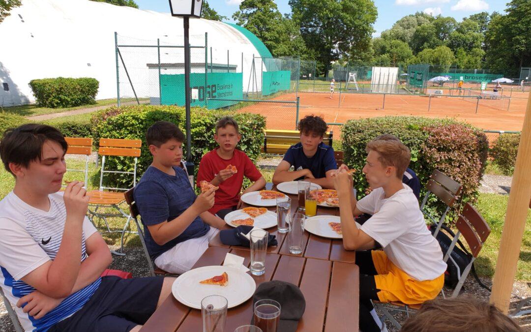 Tennis Mannschaft U 15 Muster